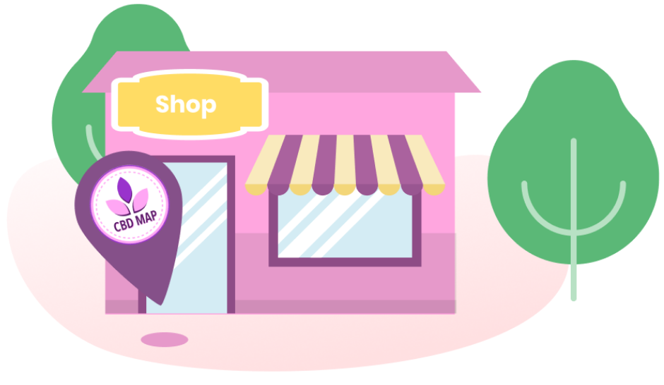 cbd store illustration